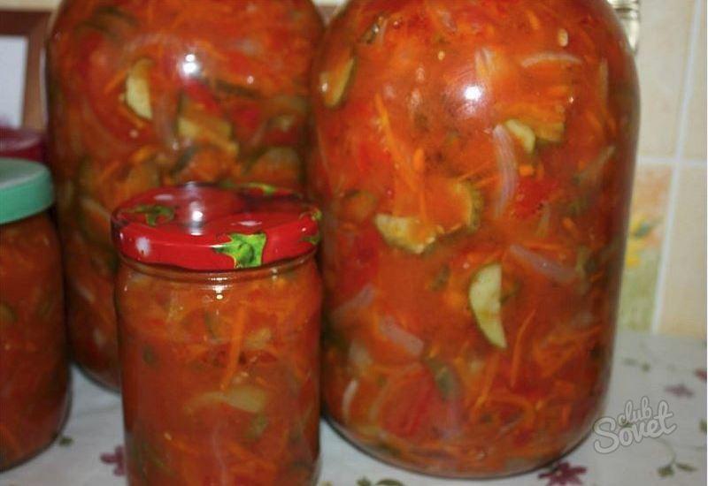 Салат на зиму огурцы перец лук