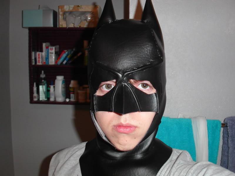 Маска бэтмена сшить своими руками пошаговая инструкция 95